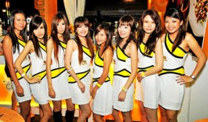 Beer girls singha-party-girls