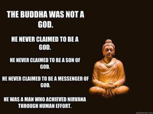 Buddha was not a GOD